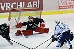 Vrchlabští hokejisté na domácím ledě znemožnili poslední celek druholigové tabulky patnácti góly.