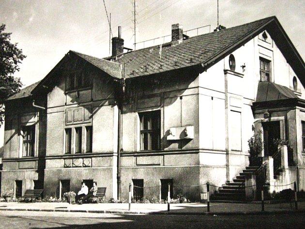 Dům, v němž žil také Karel Čapek