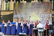 Česká účast na jarmarku slezských tkalců v Polsku