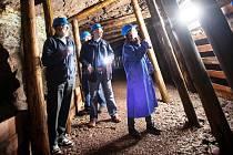 Měděný důl zve turisty do štoly i do nového altánu