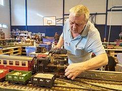 Železniční modely obsadily trutnovskou Frimlovku