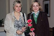 Karolína Erbanová s maminkou Simonou.