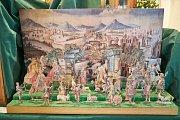 Tradiční výstava betlémů v trutnovské radnici.