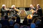 Panochovo kvarteto během koncertu v Žacléři.