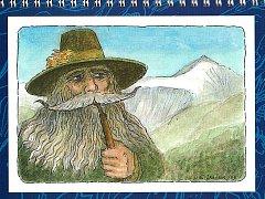 Škopkovy kalendáře upoutají citlivým uměleckým zpracováním