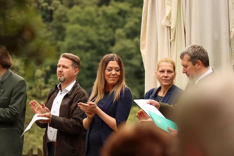 Oslava 60. výročí lesnického školství ve Svobodě nad Úpou.