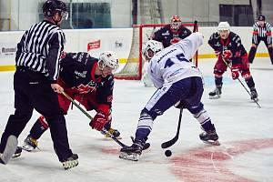 Hokejisté Trutnova na domácím ledě podlehli Plamenům ze Žďáru nad Sázavou 2:3.