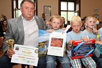 Ocenění žáků vrchlabských škol za reprezentaci města