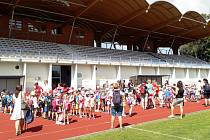 Děti z mateřských škol testovaly atletiku