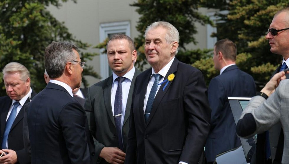 Miloš Zeman v Turnově
