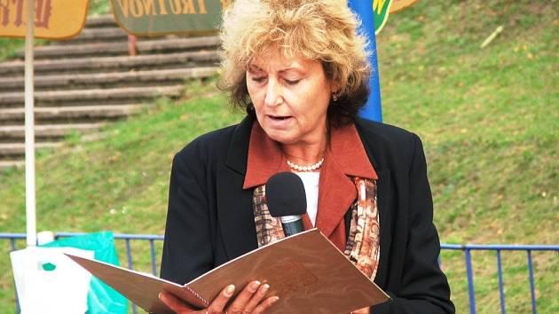 Edita Vaňková - starostka Dvora Králové