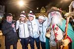 Slavnostní přivítání olympioniků ve Vrchlabí, Karolíny Erbanové, Karolíny Grohové a Michala Krčmáře