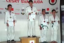 NEJVYŠŠÍ METY dosáhl v Chomutově mladší žák Jan Lisý (první místo), jenž nenašel ve své kategorii konkurenci.