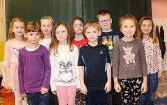 Žáci 1. třídy ZŠ Hajnice