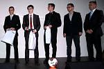 Předsedou OFS Trutnov je Marek Pilný (druhý zprava)