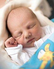 TRISTAN se narodil rodičům Nikol a Janovi 15. ledna. Rodina bude bydlet v Rudníku.