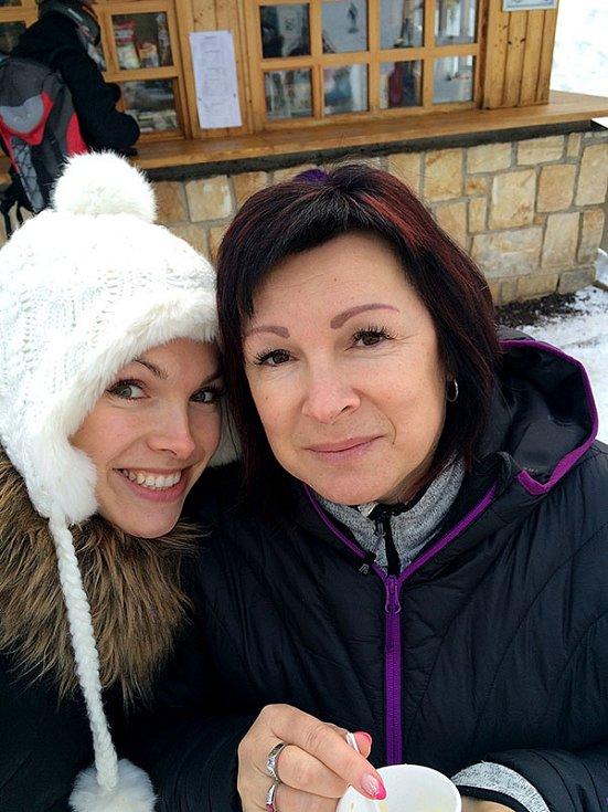 Kamila Nývltová s maminkou Ivetou Nývltovou.