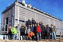 Žáci Střední průmyslové školy Trutnov se vydali na Sněžku.