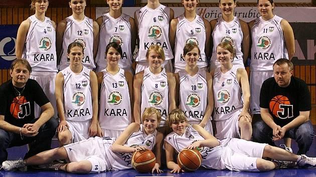 Starší dorostenky BK Kara Trutnov