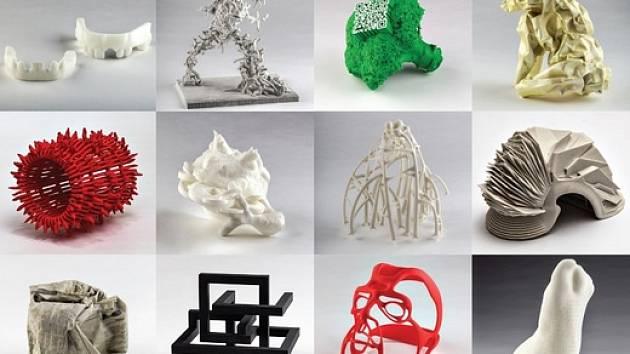 Mladí umělci tvořili 3D tiskem