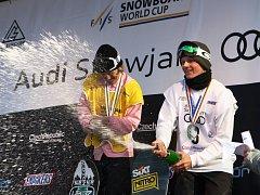 Předávání křišťálového glóbu vítězi Světového poháru