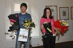 Před čtyřmi lety, po olympiádě v Soči, dostala Veronika Vítková společně s dalším medailistou Jaroslavem Soukupem v Jilemnici holínky. Oba jsou odchovanci jilemnického biatlonového klubu.