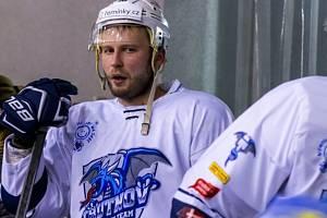 Pavel Fedulov měl v pátek jasno. Fandil Rusům. V dalších zápasech ale bude přát i českým hokejistům.