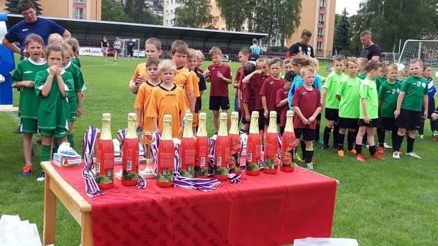 Také letos na malé fotbalisty čeká hromada cen.
