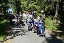 Letní měsíce se v trutnovském klubu vozíčkářů nesly ve znamení výletů a dalších aktivit.