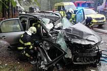 V pondělí ráno se stala vážná dopravní nehoda na Výšince.