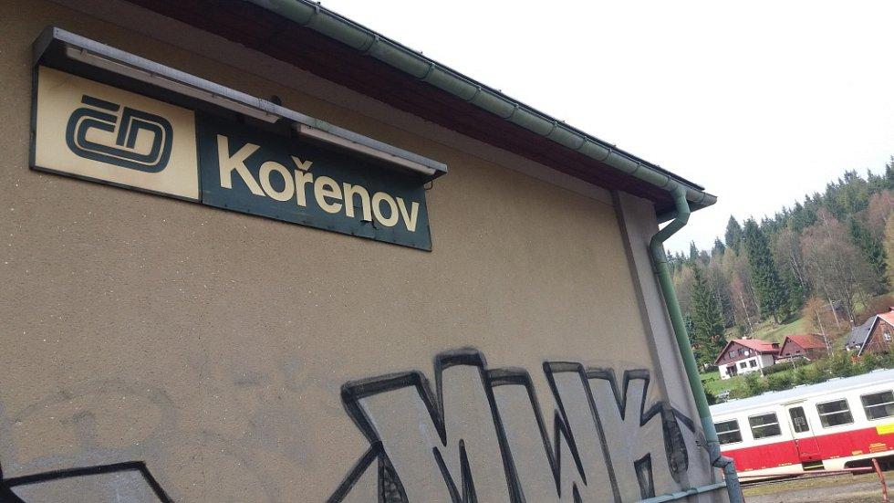 Zahájení sezony na zubačce v Kořenově.