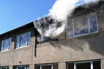 Opuštěnou ubytovnu v Poříčí někdo zapálil úmyslně