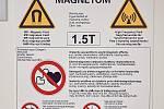 Nová magnetická rezonance v trutnovské nemocnici.