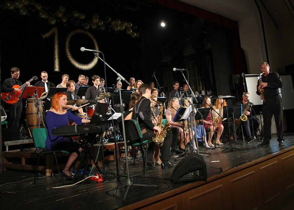 Vrchlabský Big Band slavil desítku.