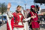 Dvůr Králové nad Labem si připomněl v sobotu 750 let od první písemné zmínky o městě.