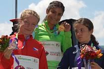 Eliška Martínková si z dalekého Nairobi přivezla bronzovou medaili.