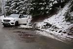 Polský řidič se snažil loni v prosinci převézt přes hranice mercedes ukradený v Německu.