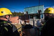 Odstávka a údržba lanovky na Sněžku