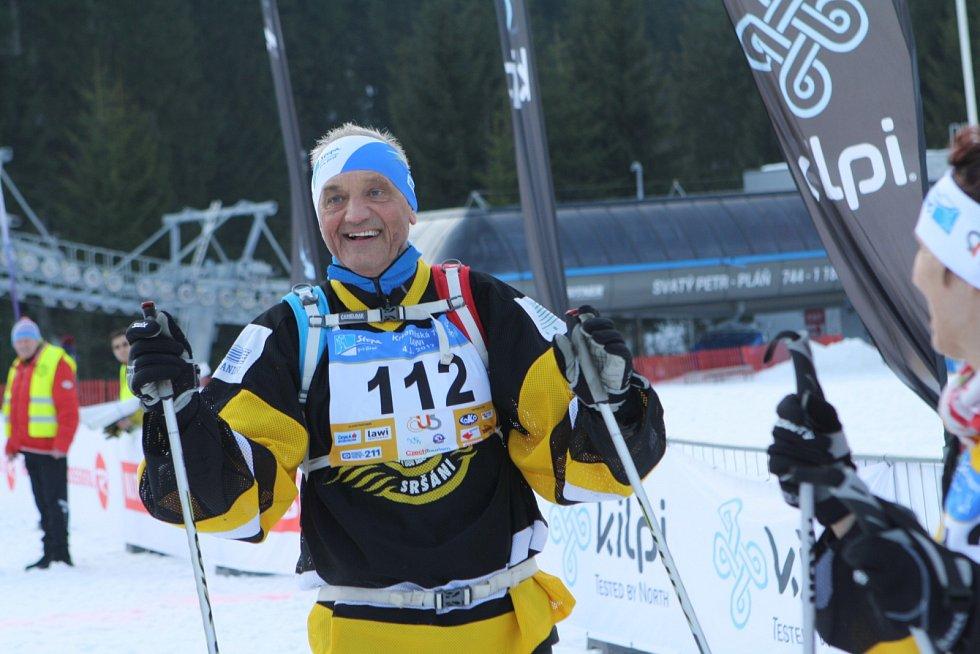David Vávra je tradičním účastníkem Krkonošské 70.