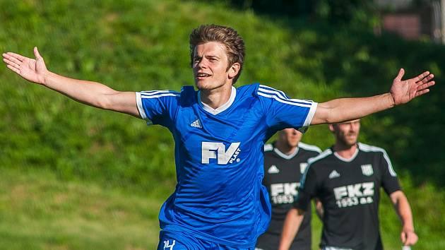 David Vitebský se výrazně podílel na výhře svého mužstva. Vstřelil vítěznou branku a po faulu na něj se ještě kopala penalta.