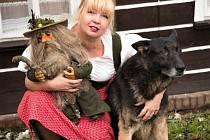 Danku Šárkovou zajímá život místních horalů, stravování, provoz horských chalup a penzionů a pak ty zvířátka v nich.