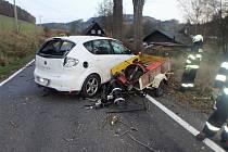 Dopravní nehoda v Jívce