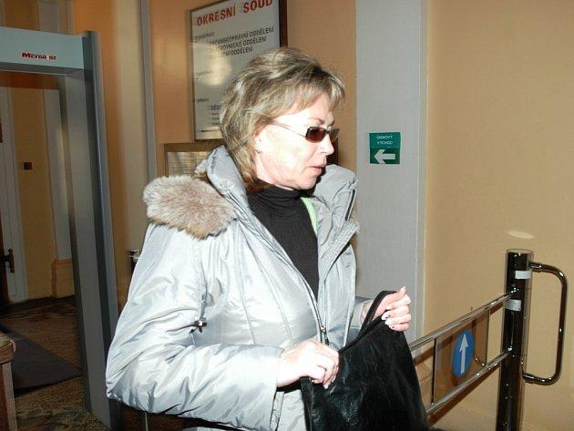 Renata Kosová čeká na rozsudek.