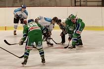 Hokejisté Hronova proti Vrchlabí neměli moc šancí na úspěch.