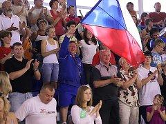 Basketbalová příprava v Trutnově: Česko - Čína.