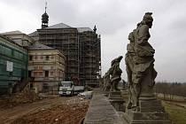 Opravy barokní památky hospitalu Kuks.