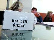 Registrační značka. Ilustrační snímek.