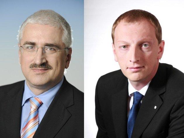 Pavel Trpák a Robin Böhnisch