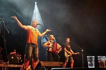 Koncert skupiny Tři sestry v Trutnově.