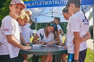 Česká reprezentantka se podepisovala v Trutnově